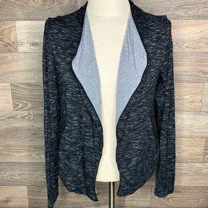 Lou & Grey Jersey Knit Cardigan Jacket Sweater